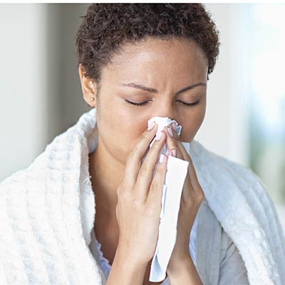 Myth: Allergies go away in the winter