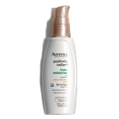 Aveeno Positively Radiant Tinted Moisturizer Broad Spectrum SPF 30