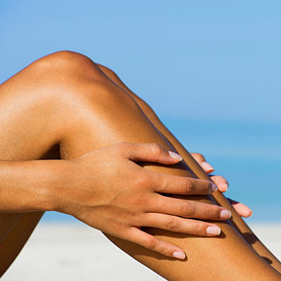 Artificial tan remover
