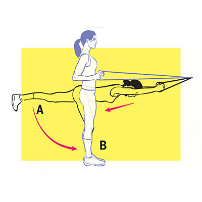 Single-Leg Row With Band