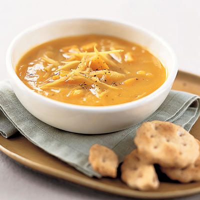 Sweet Potato and Ginger Soup
