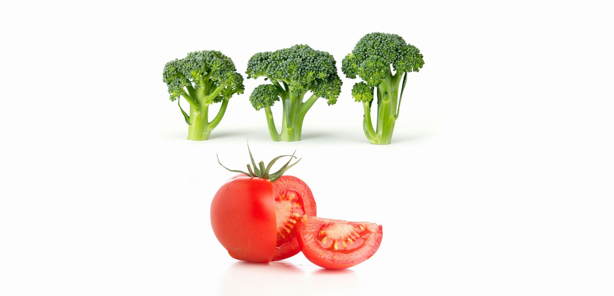 Broccoli + tomatoes