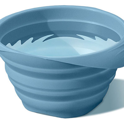 Collapsible water dish