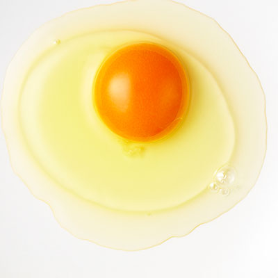 undercooked eggs