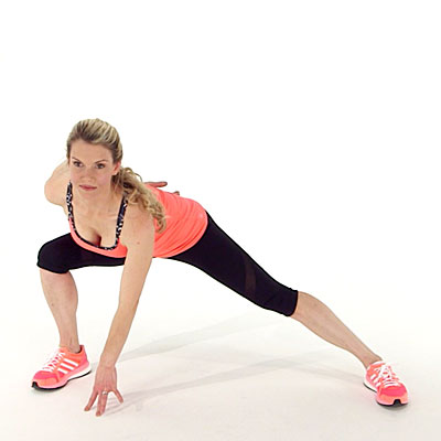 How to Do a Plyometric Side Lunge - Health
