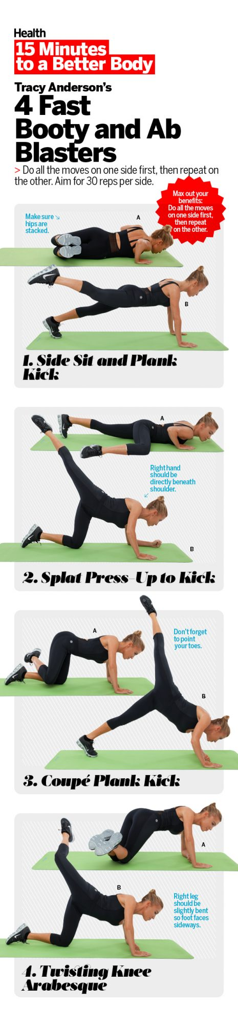 Pin It: Tracy Anderson Butt Workout