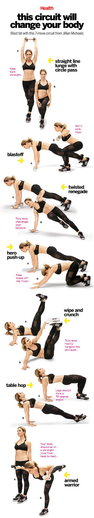 Pin It: The Jillian Michaels Circuit Workout
