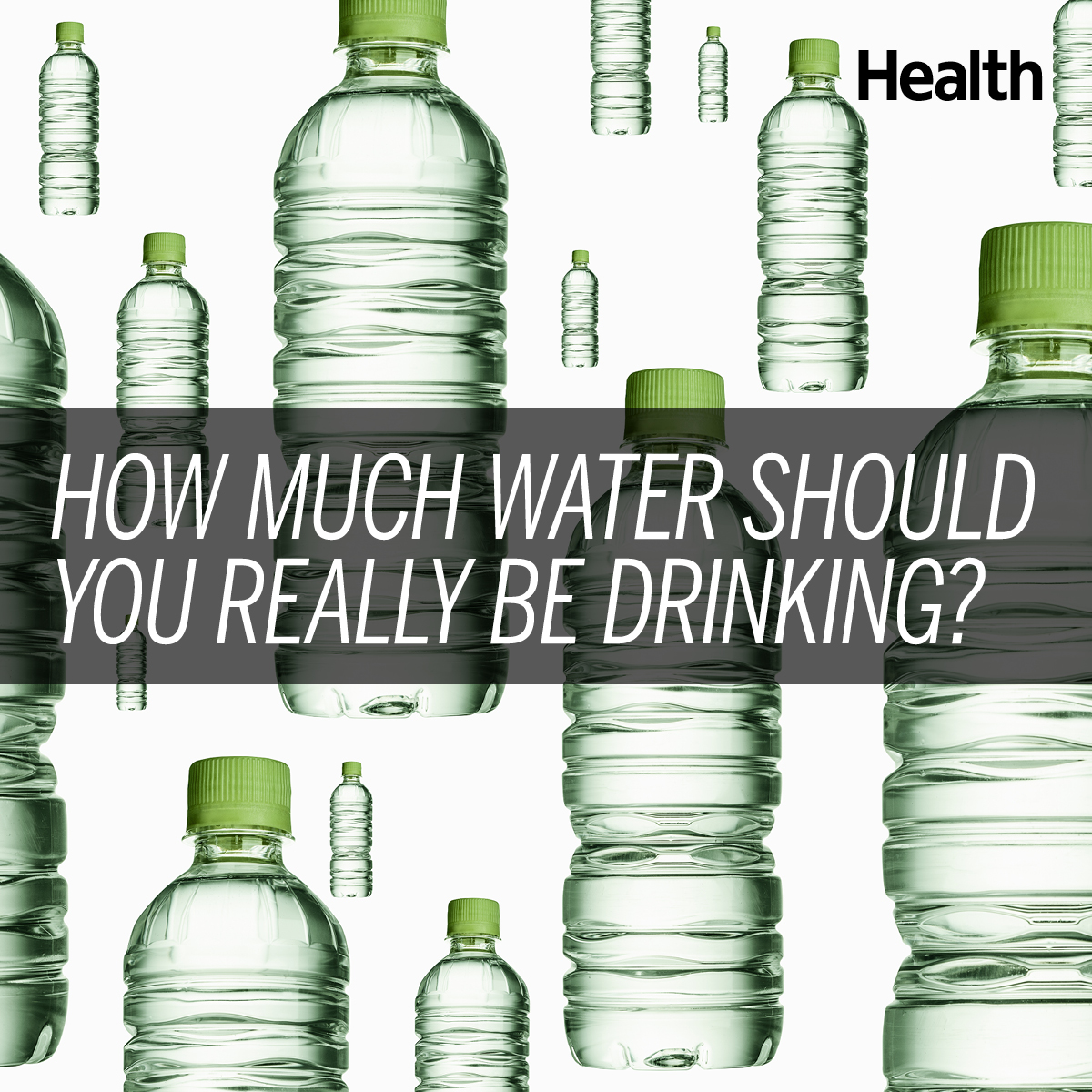 the amount of water you actually need per day - health
