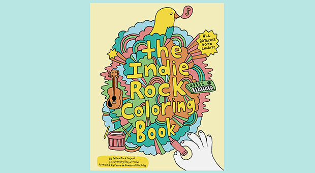 Toss A Bon Iver Vinyl Onto Your Record Player Grab Some Colored Pencils And Dive Into This Musically Inspired Coloring Book Outside The Lines Is