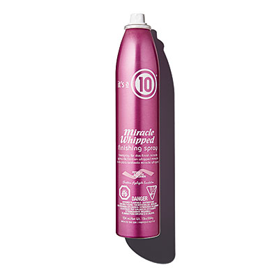 10 miracle whipped finishing spray
