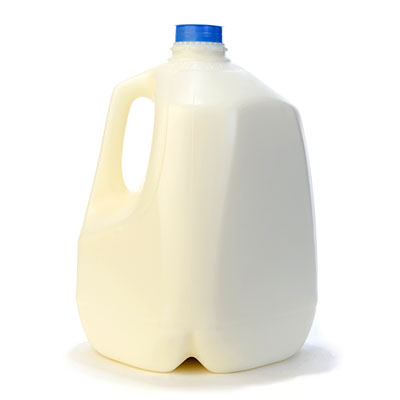 Vitamin-D-fortified milk