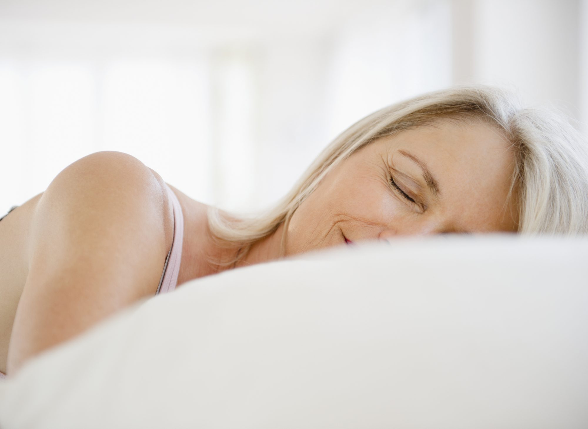 Myth: Older people need less sleep