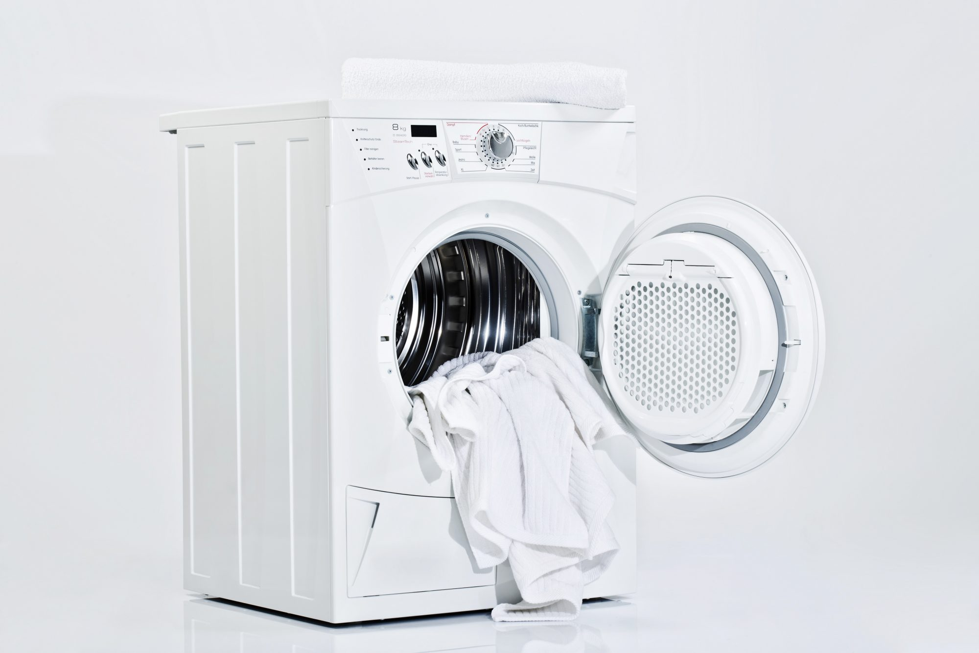 Cleaning your washing machine could help