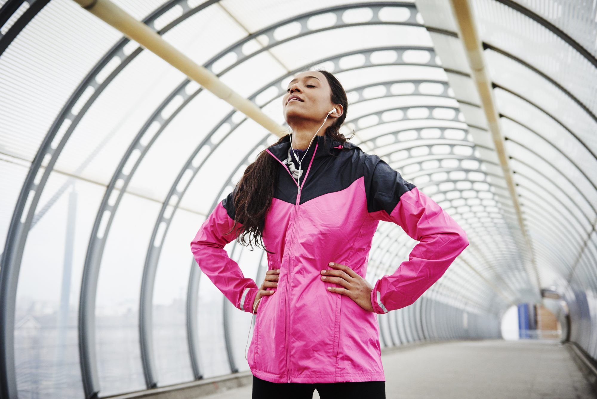 Waterproof running jacket