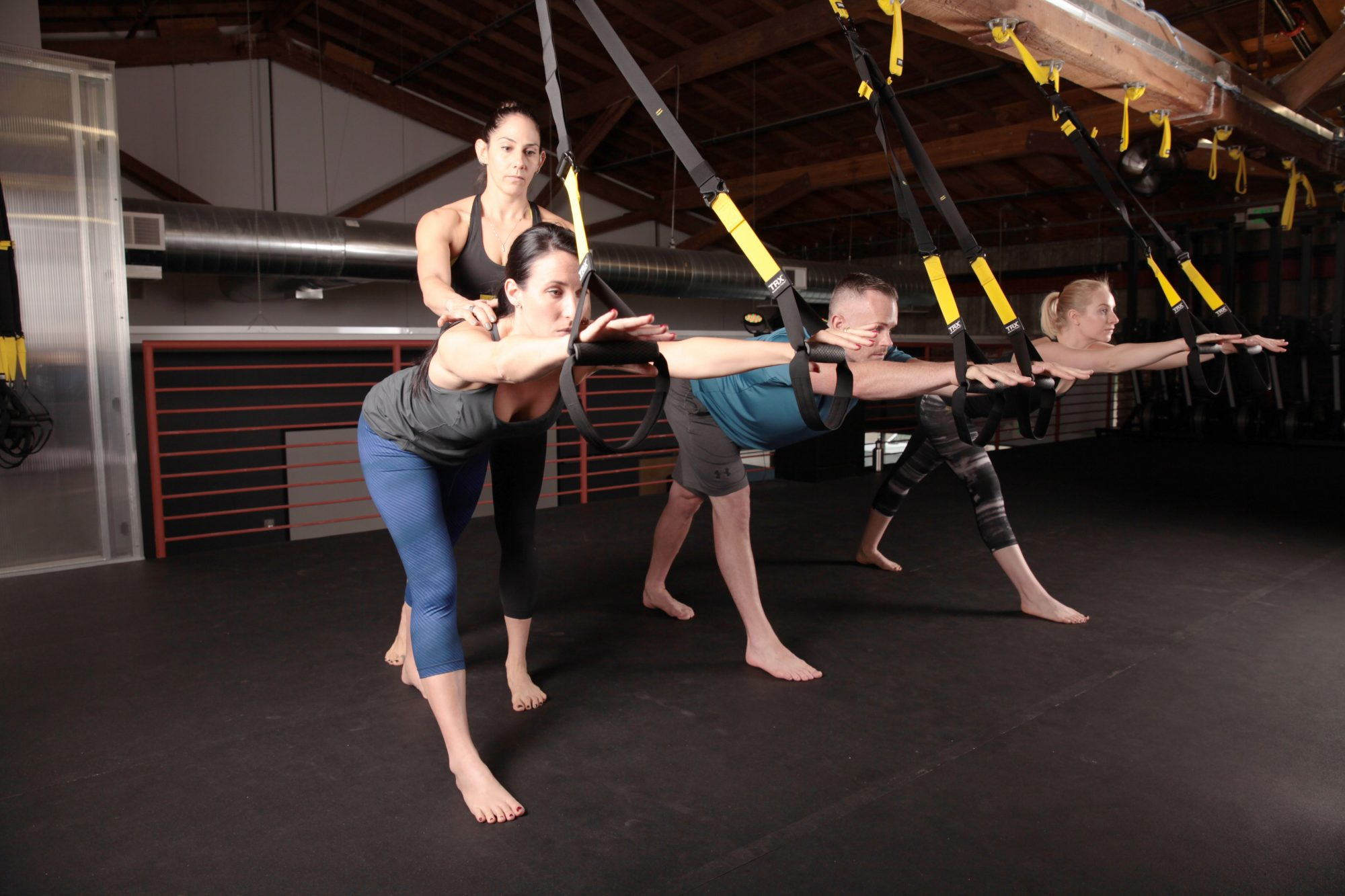 I Tried a TRX-Yoga Fusion Class and It Changed Everything