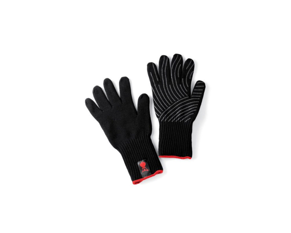 weber barbeque glove set