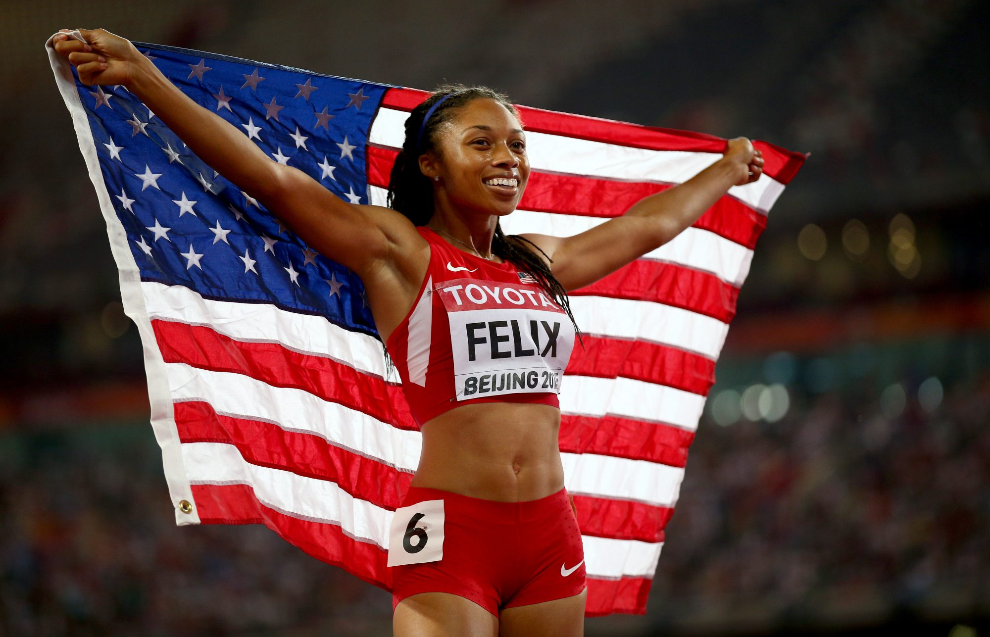 Allyson Felix on Her Olympic Medals, Listening to Her Body, and The Best Advice She's Been Given