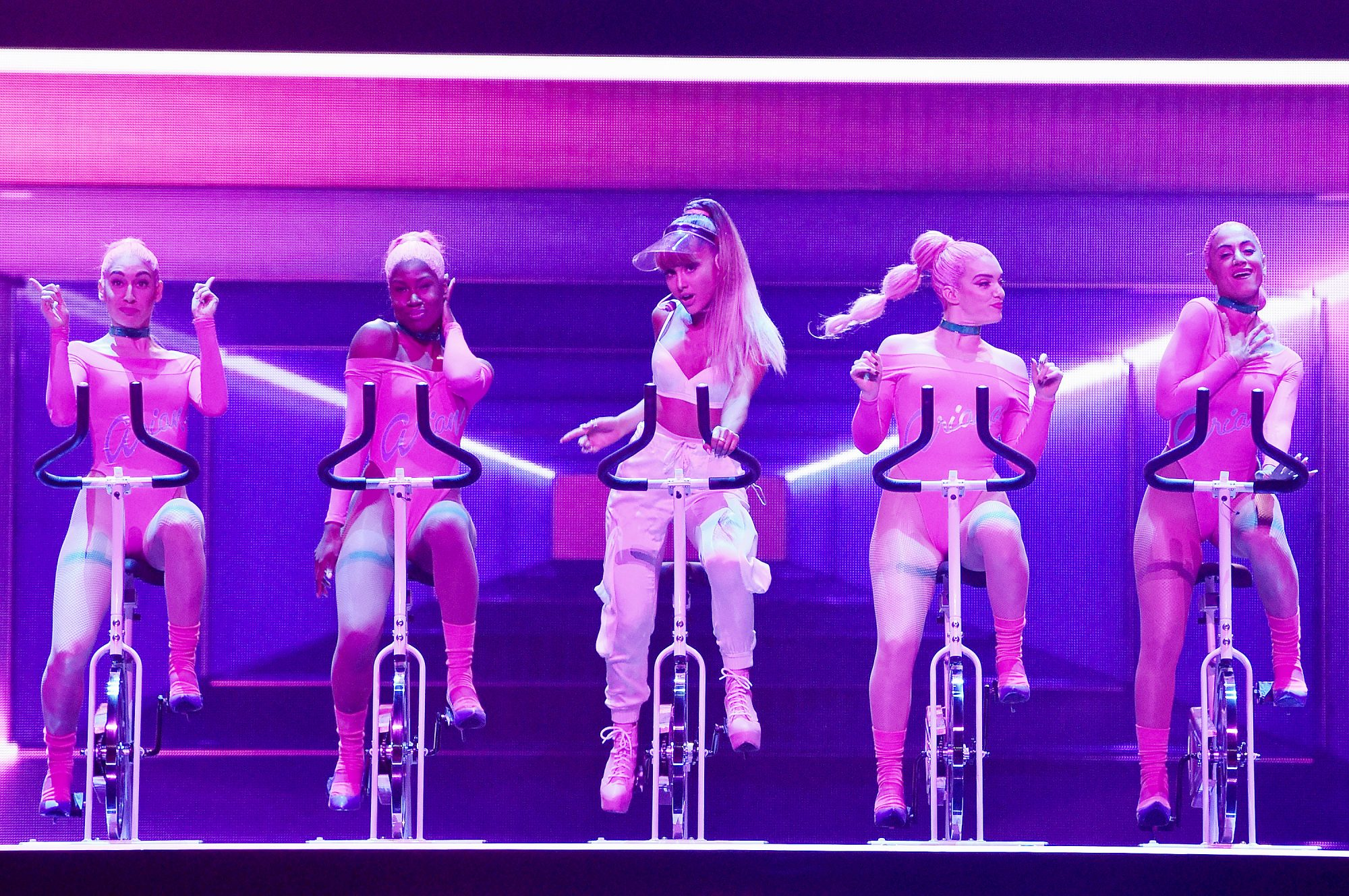 Ariana Grande's SoulCycle-Inspired VMA Performance Is Everything
