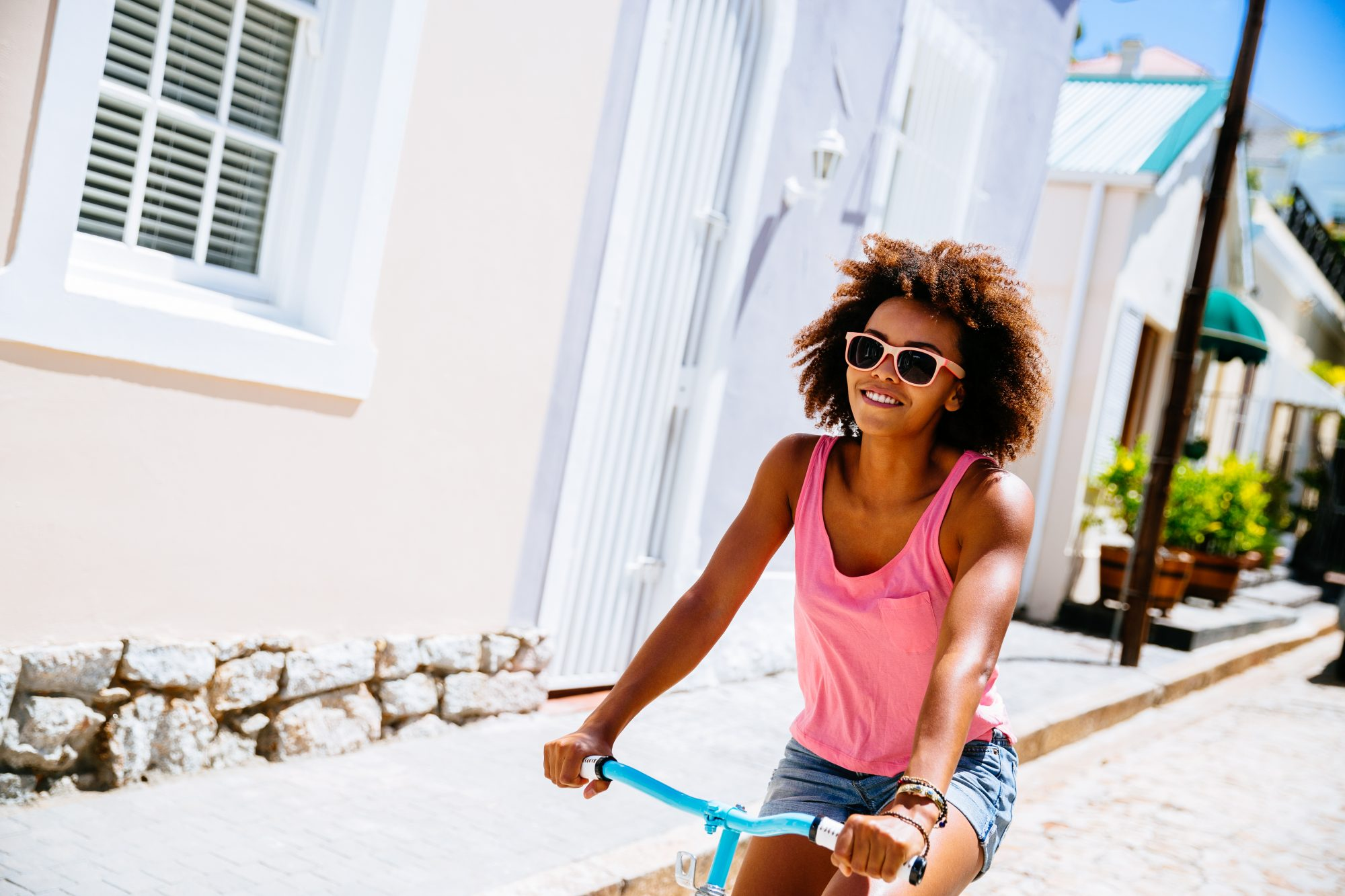 healthy-city-bicycle-workout