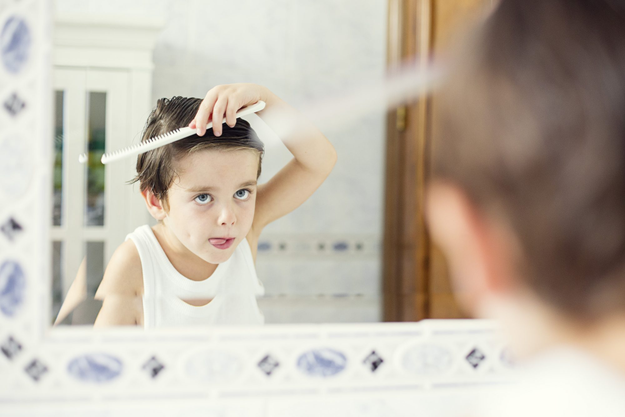 Myth: You won't get lice if you have short hair