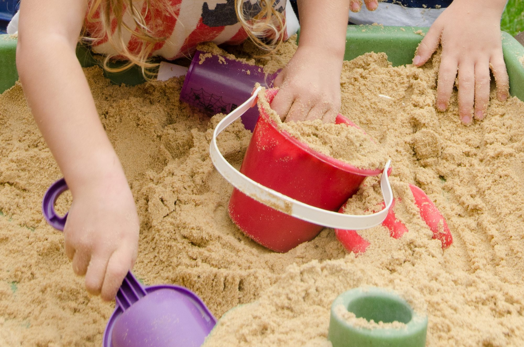 Myth: Sandboxes are a breeding ground for lice