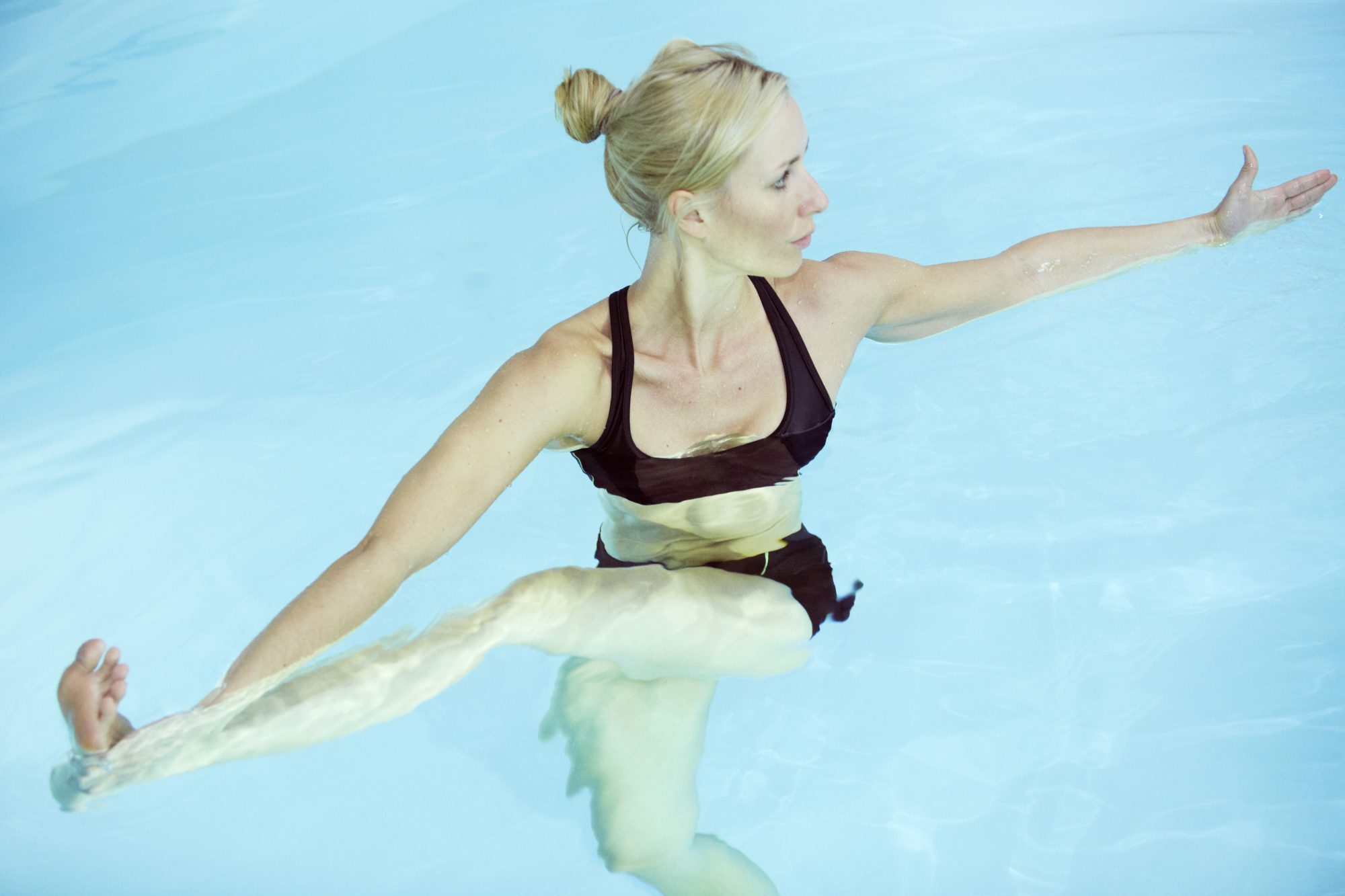 I Tried a Water Yoga Class and Left Feeling Calmer Than Ever