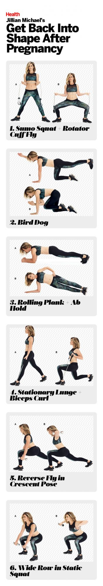 post pregnancy workout from jillian michaels health