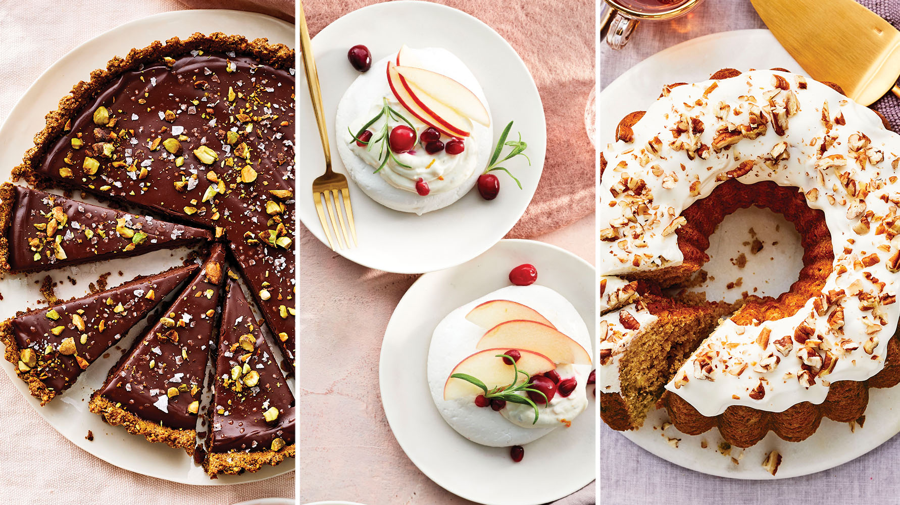 7 Low-Calorie Holiday Desserts
