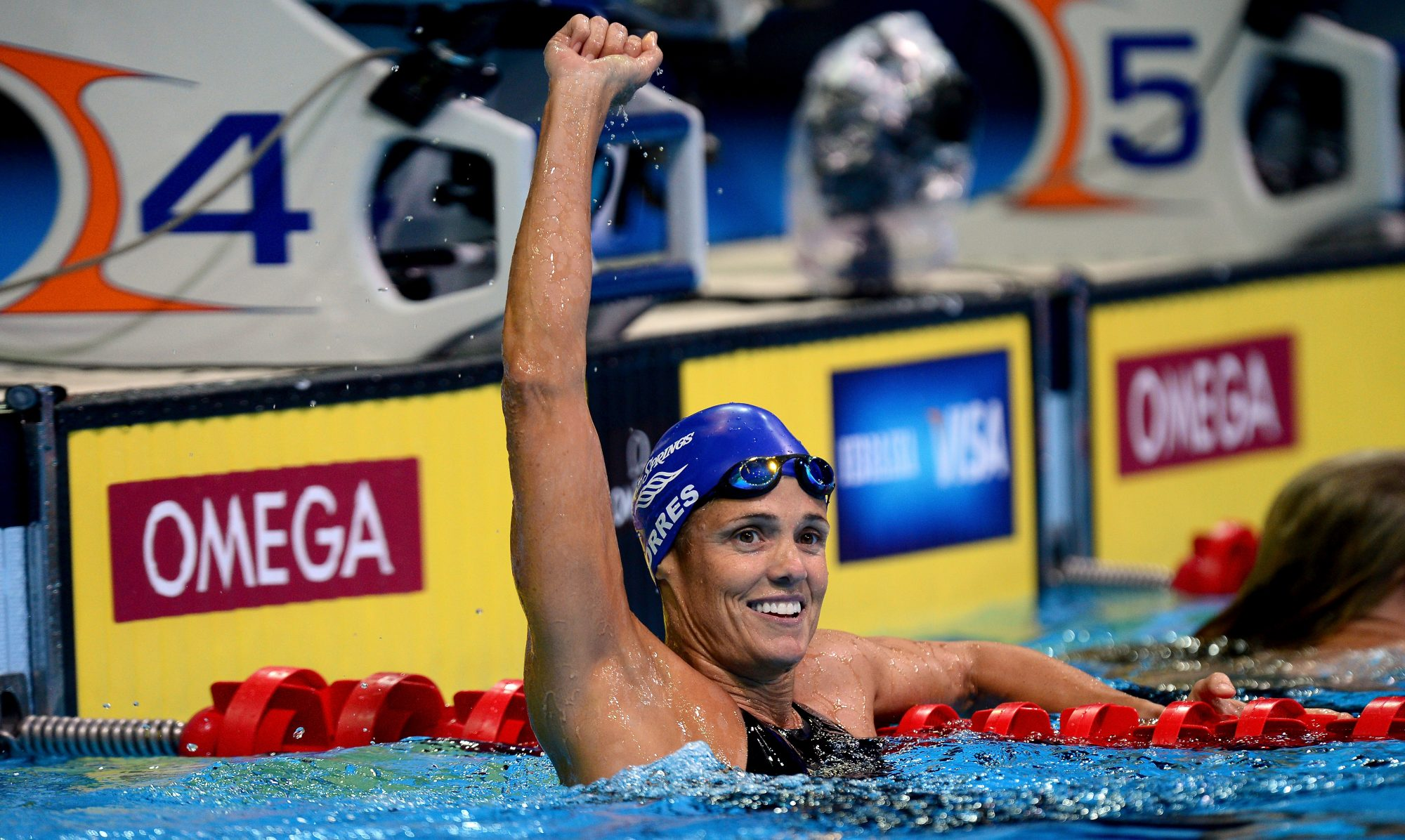 Olympic Swimmer Dara Torres on Her Psoriasis:  At First, I Was Horribly Embarrassed