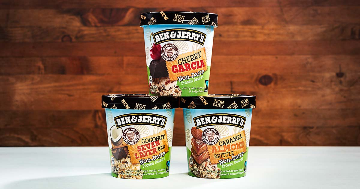 Ben & Jerry's Celebrates a Year of Vegan Ice Cream with Three New Flavors