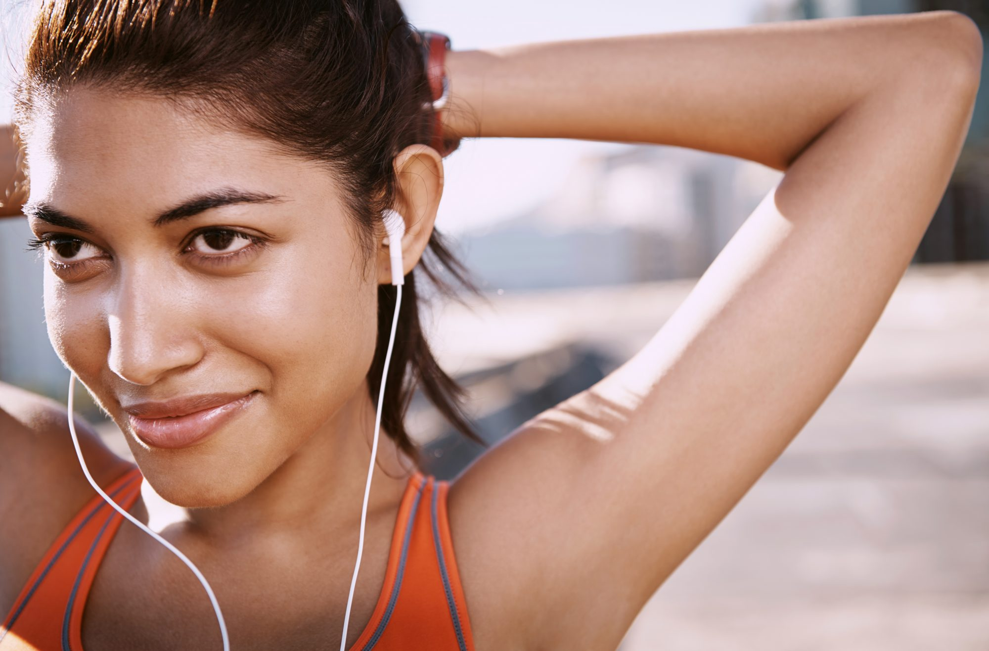 There May Be a Downside to Working Out With Music