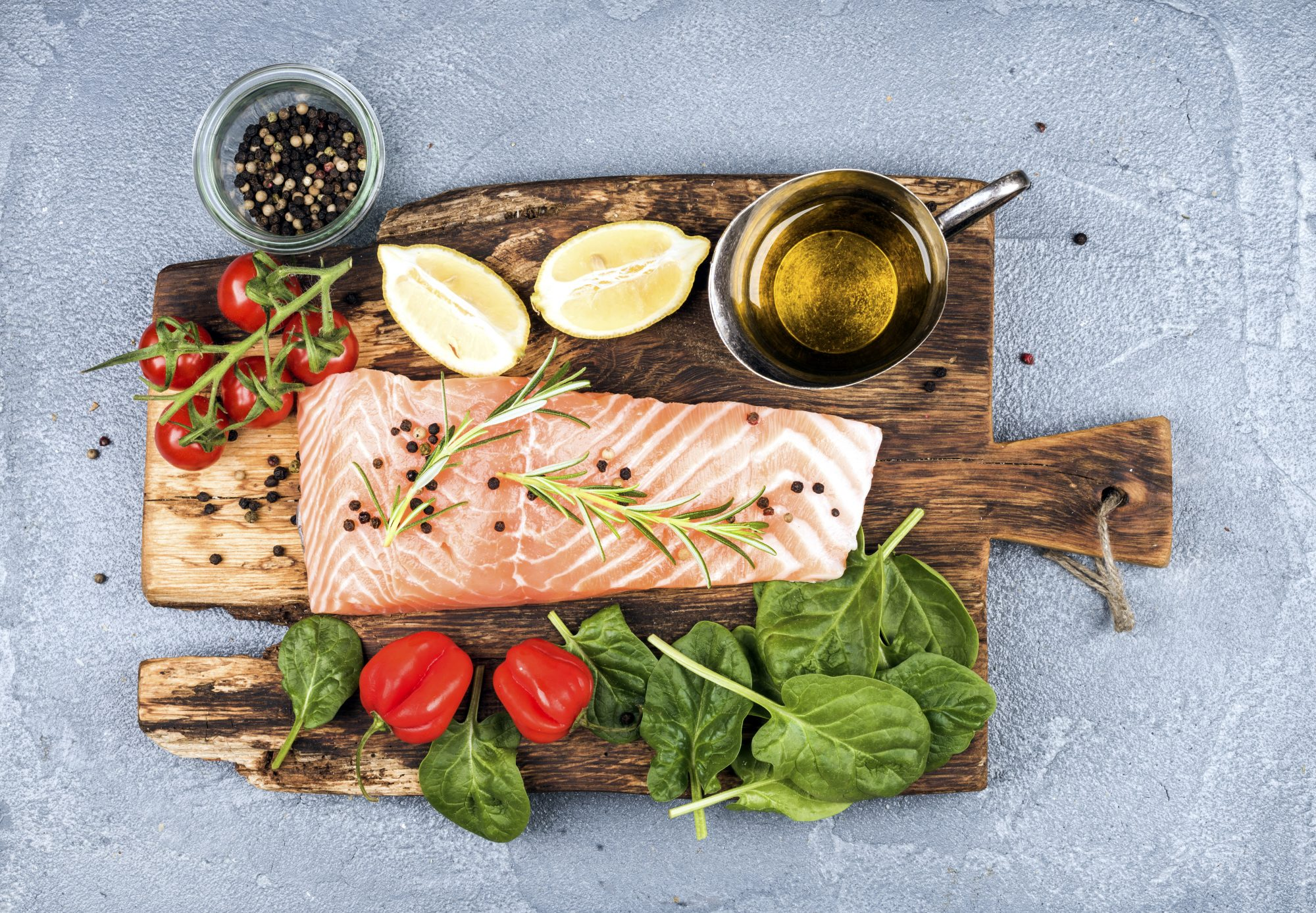 Opt for a heart-healthy diet