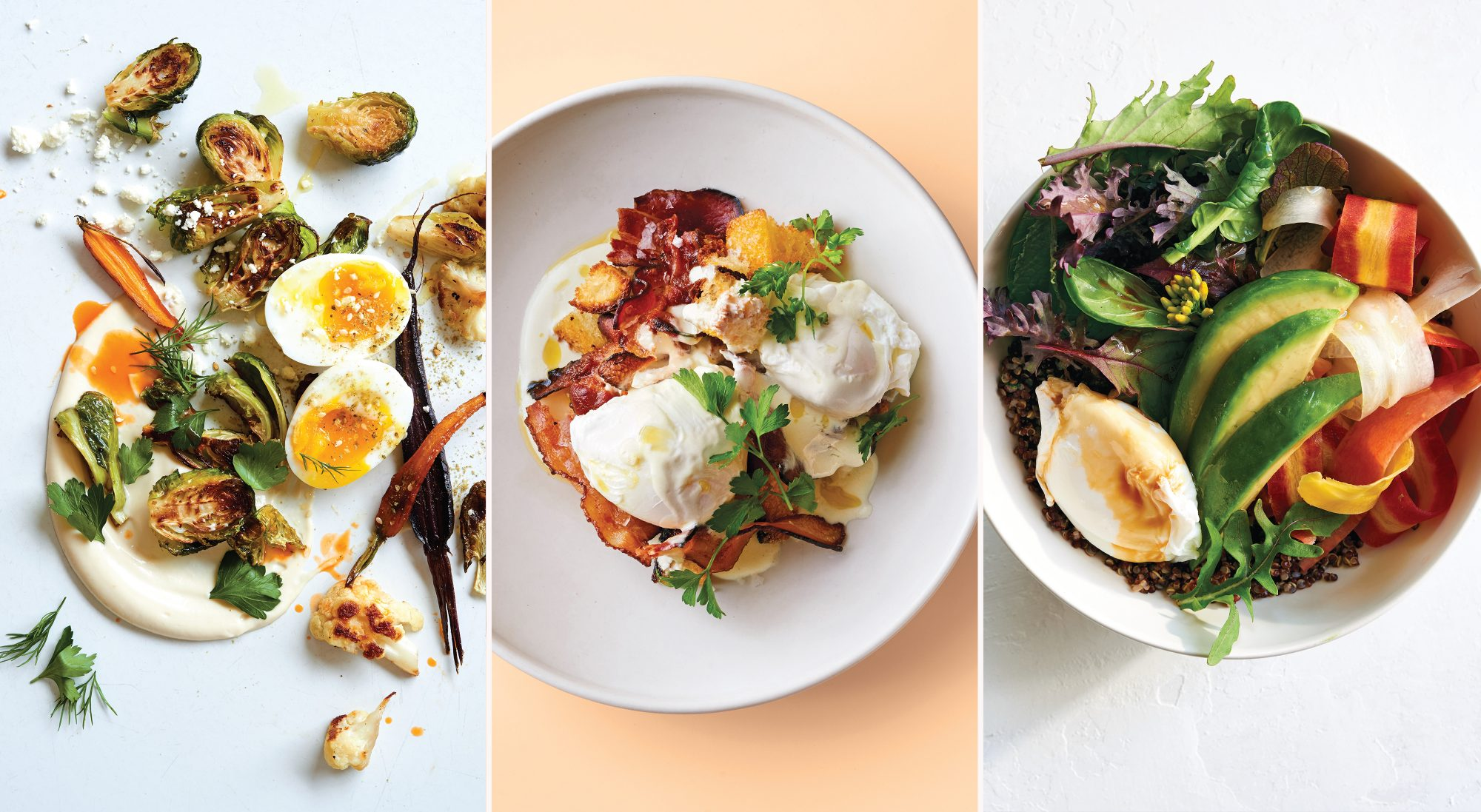 These 3 Egg Bowls Make Delicious High-Protein Lunches
