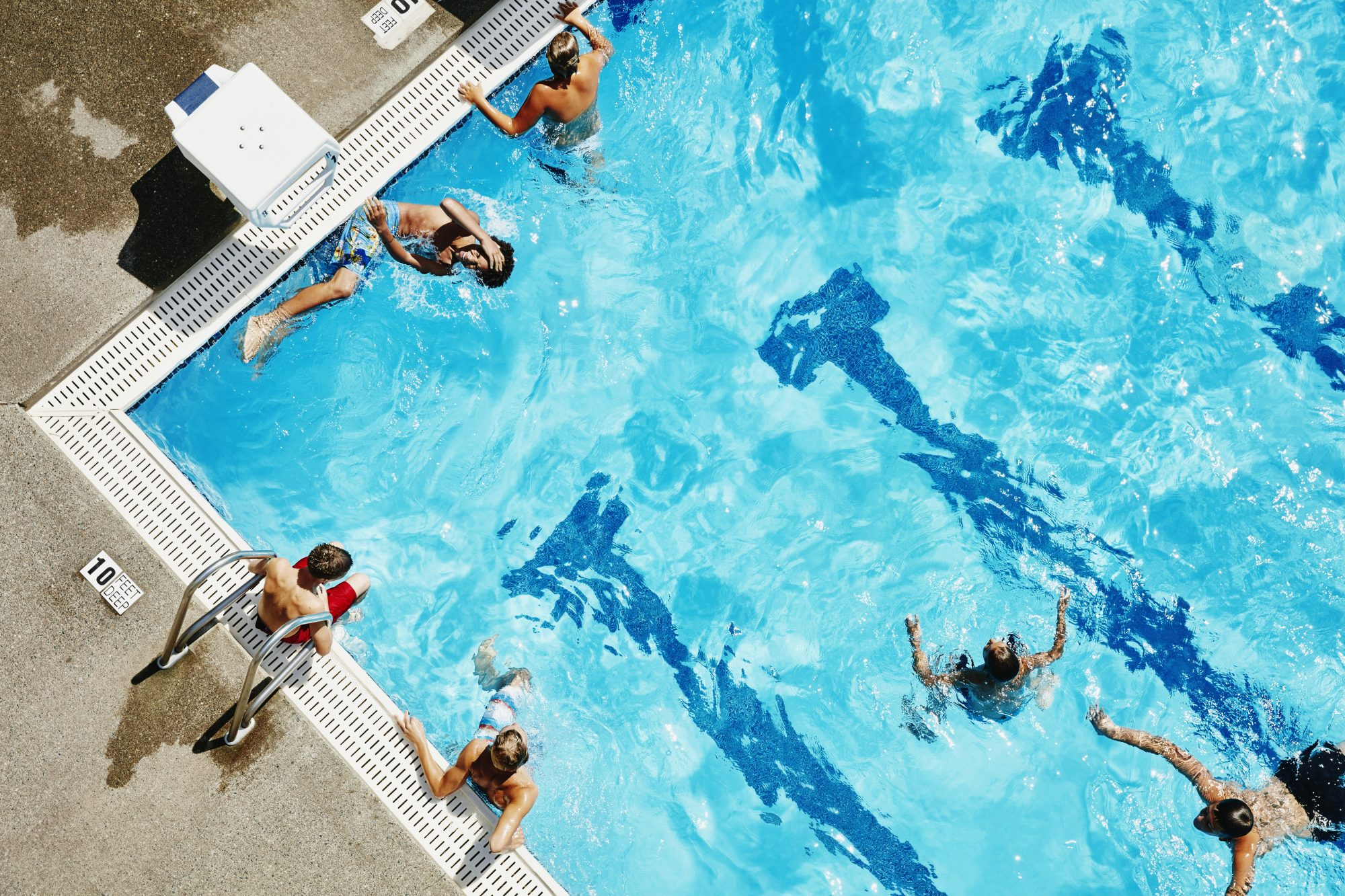 Scientists Say Gallons of Pee Are in the Average Pool. How Harmful Is It?