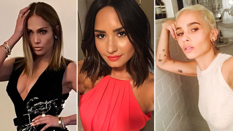 7 Celebs Who Are Giving Us Spring Haircut Inspo