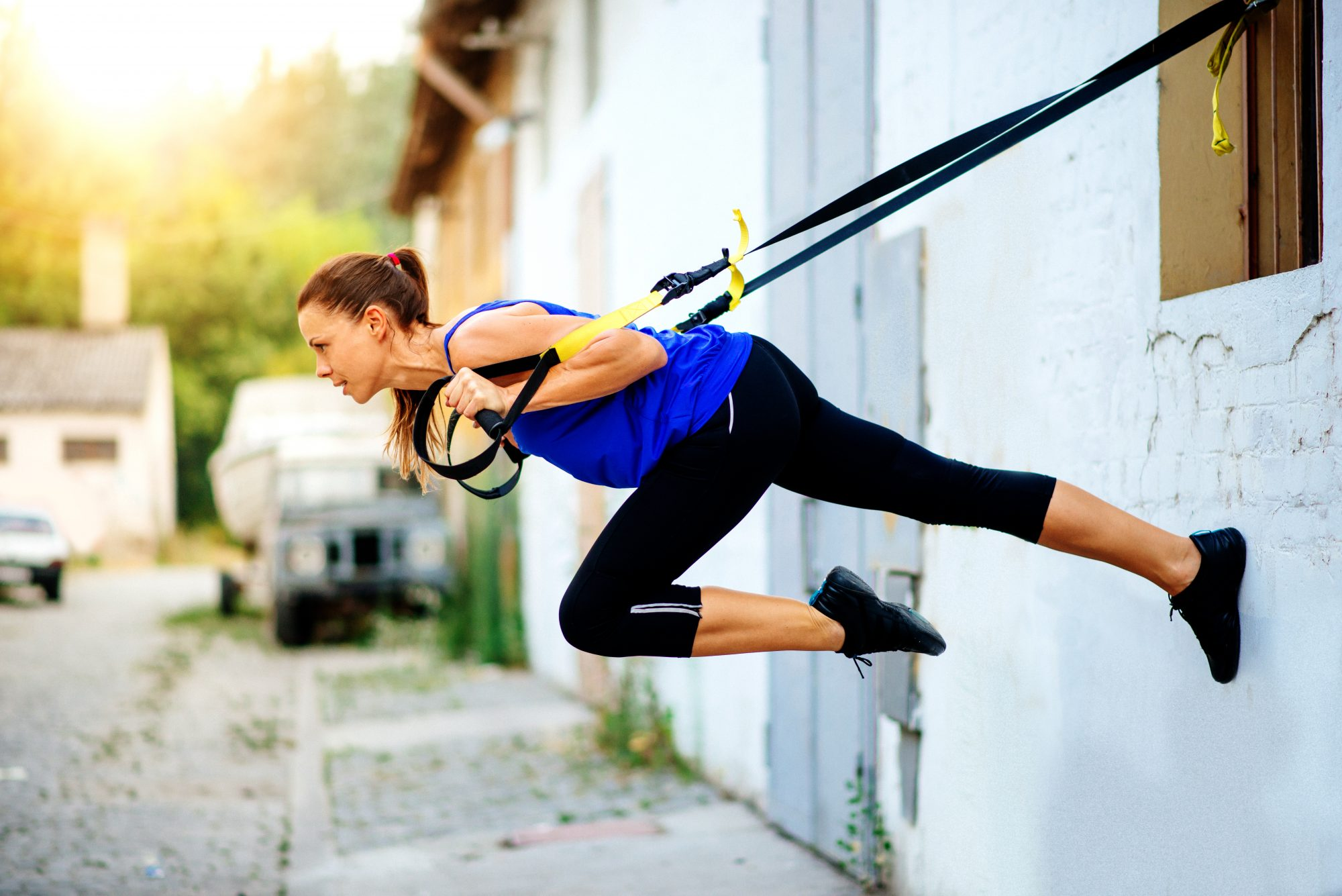 This Challenging TRX Workout Will Revamp Your Boring Gym Routine