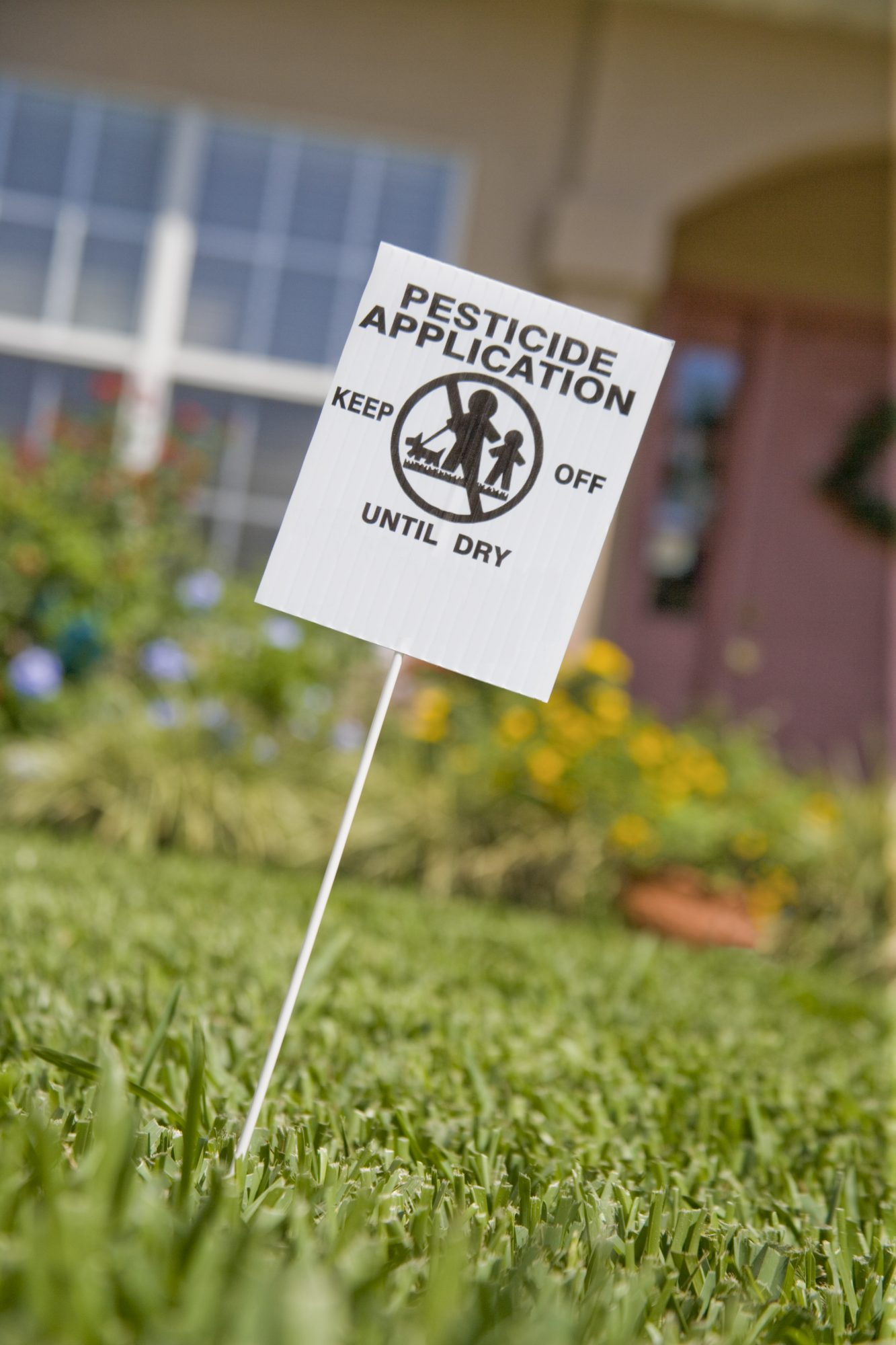 Yard pesticides