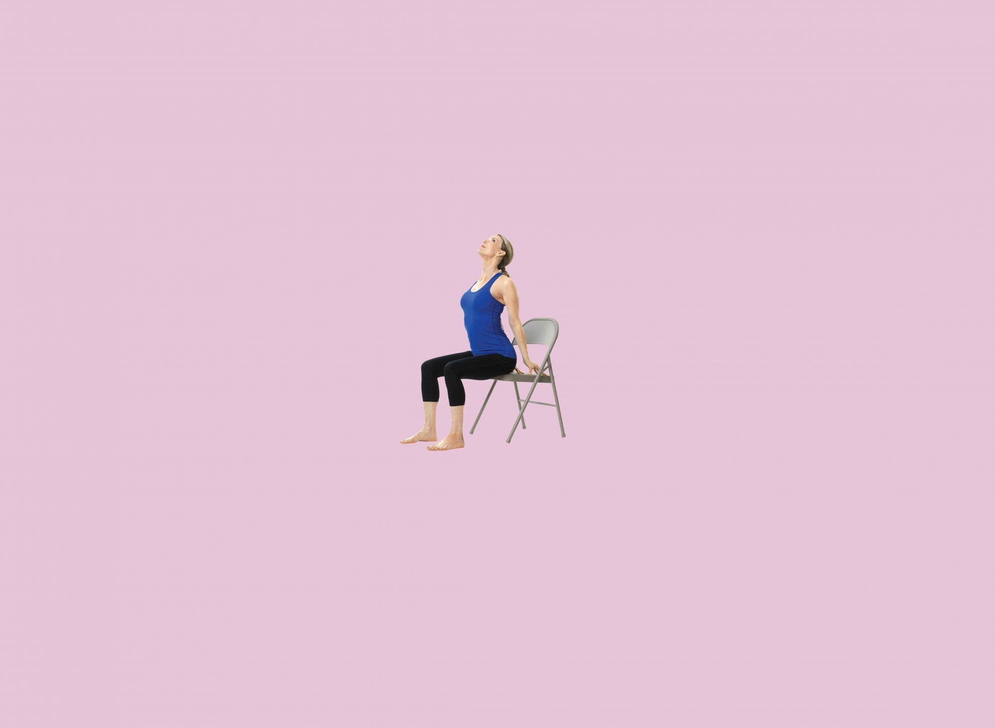 The best chair yoga moves to combat back pain health for Furniture yoga