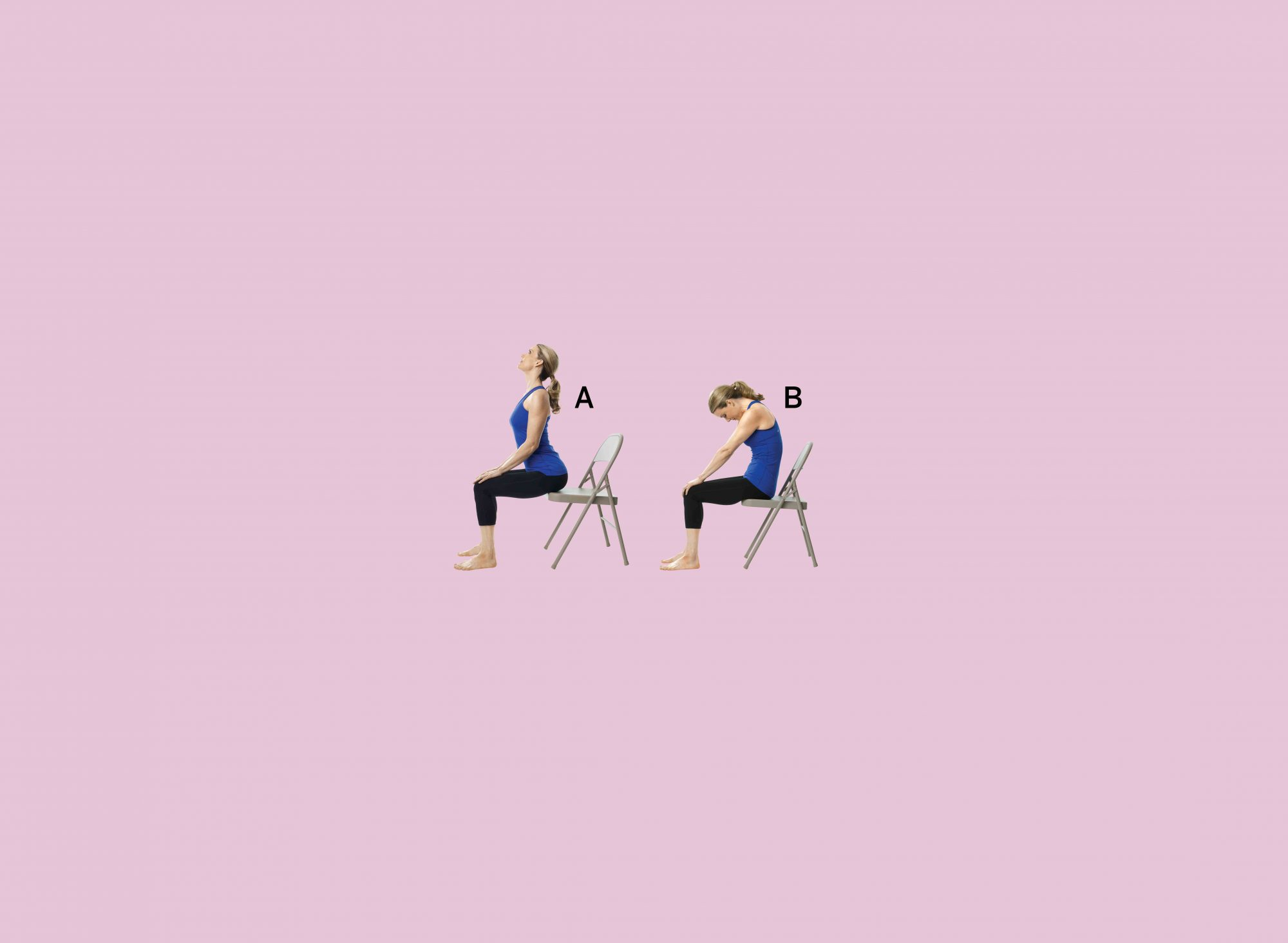 The Best Chair Yoga Moves to bat Back Pain Health