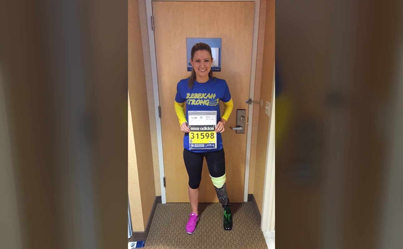 I Lost My Leg in the Boston Marathon Bombing—and Then Trained to Run the Race