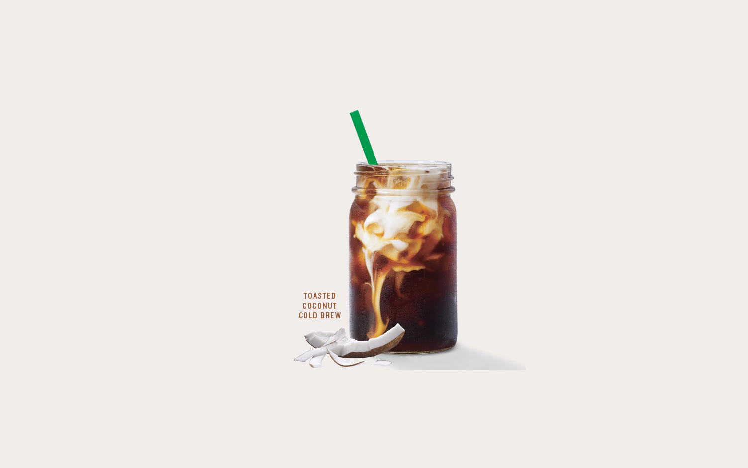 Starbucks Toasted Coconut Cold Brew Is Here