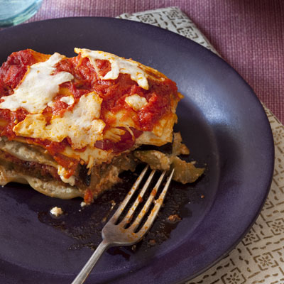 Night 2: Roasted Vegetable Lasagna