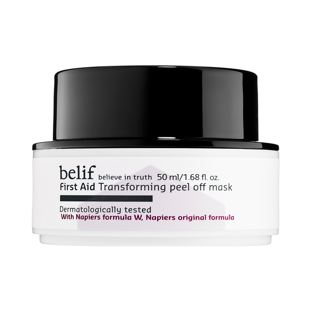 For Exfoliating: Belif First Aid Transforming Peel-Off Mask
