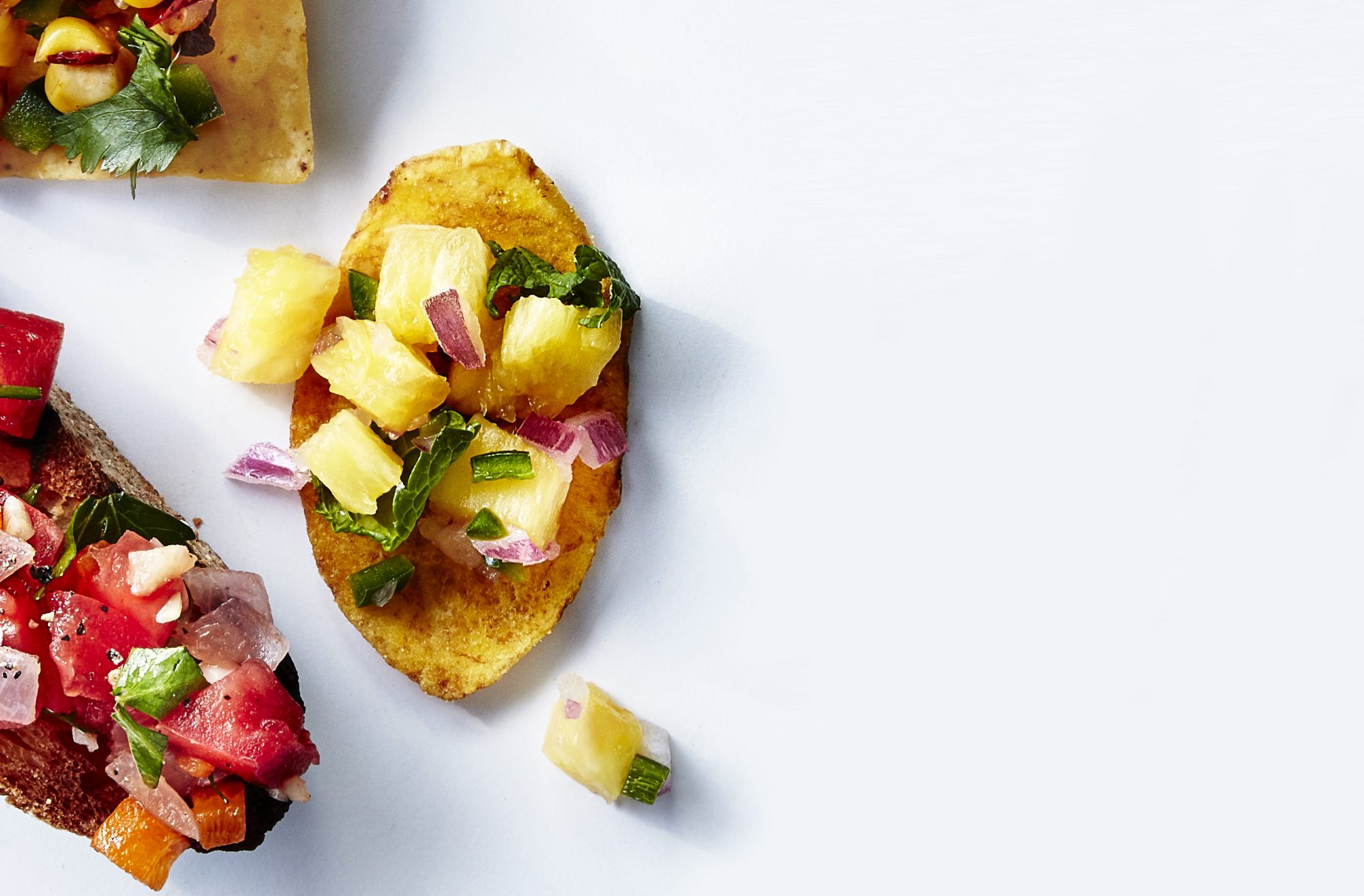 Pineapple-Mint Salsa
