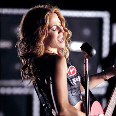 Sheryl Crow (diagnosed 2006 at 44)