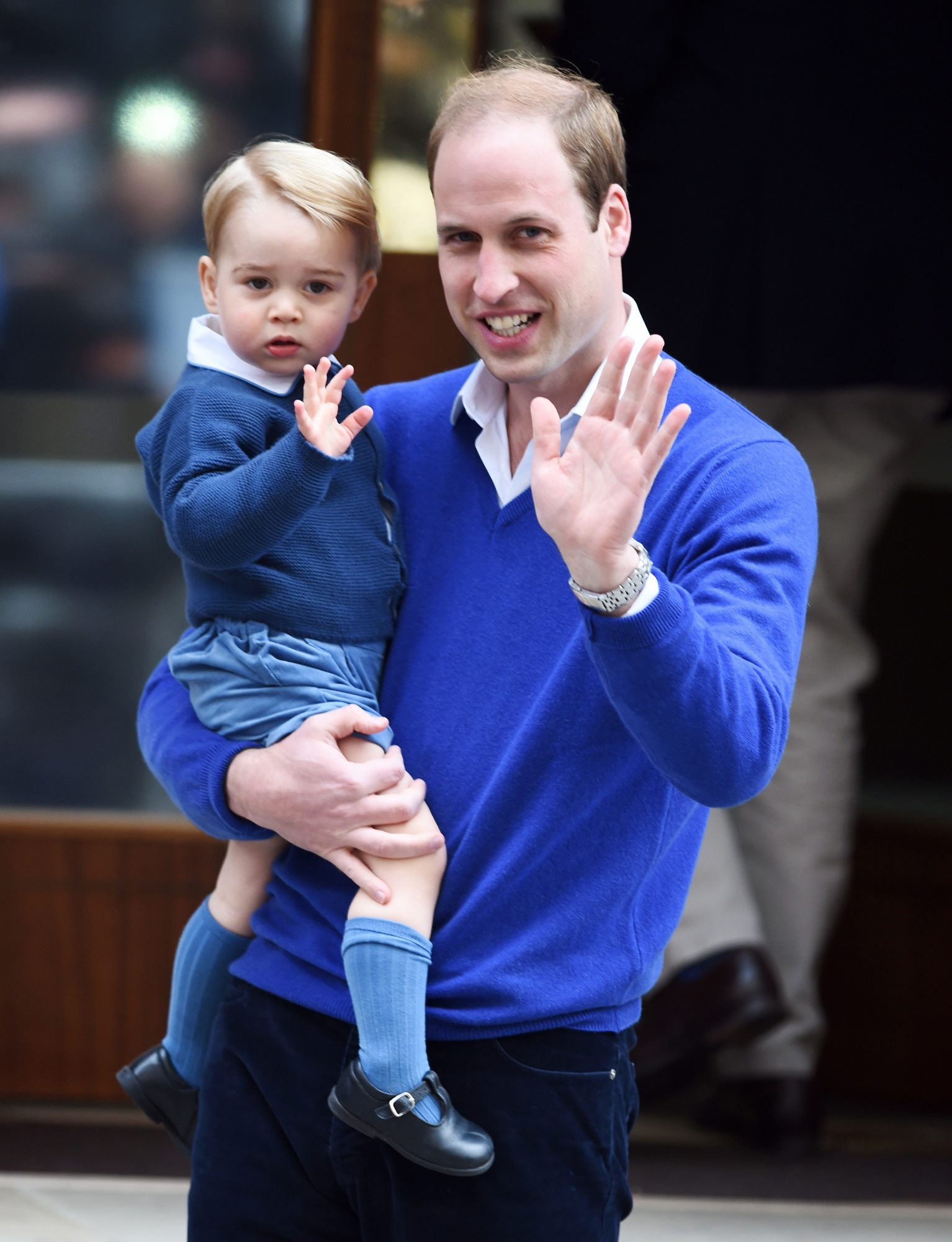 Prince William Debuted a Shaved Head Today: Compare the Before-and-After Photos