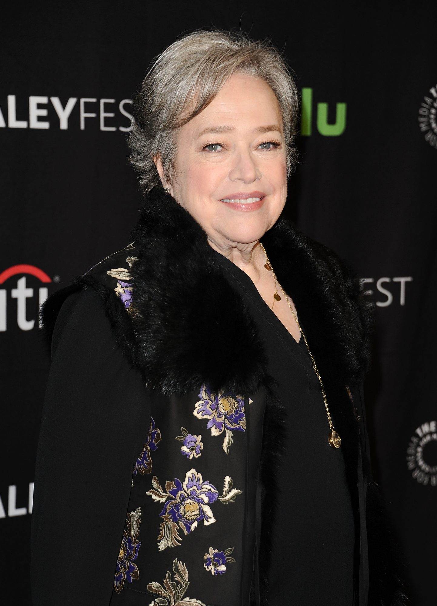 Kathy Bates (diagnosed 2012 at age 64)