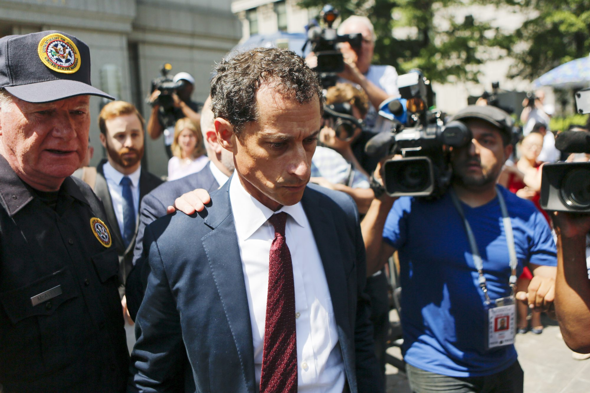 Anthony Weiner Gets Federal Prison for Sexting Teenager—in Case That Shook Presidential Election