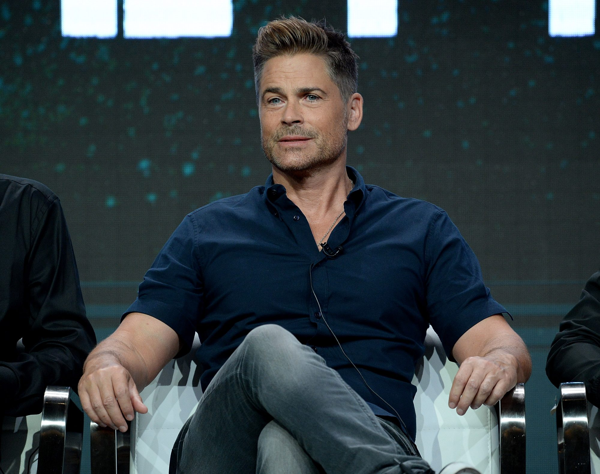Rob Lowe, on finding a silver lining in alcoholism