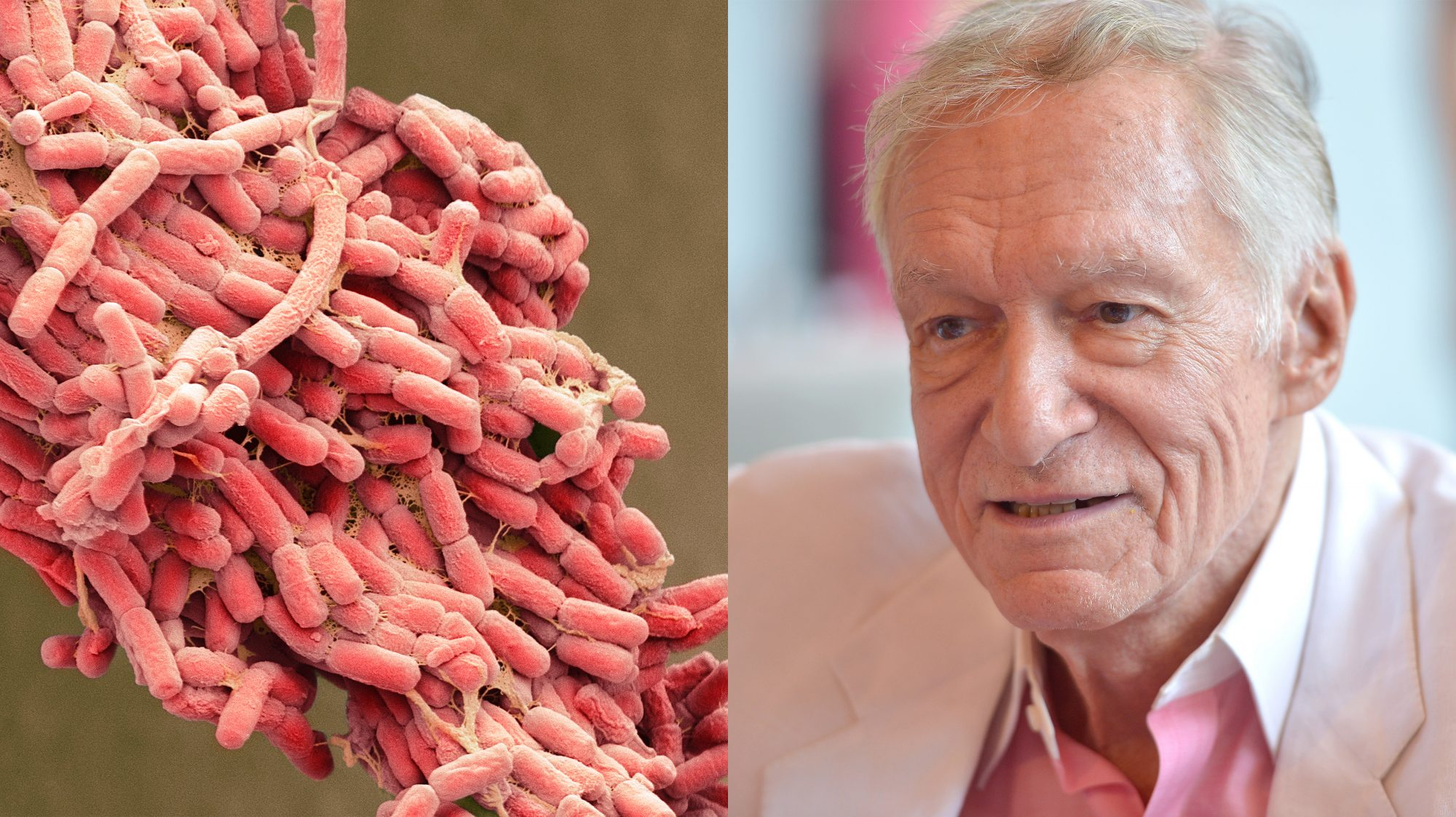 Hugh Hefner Had a Drug-Resistant E. Coli Infection. Here's What You Should Know